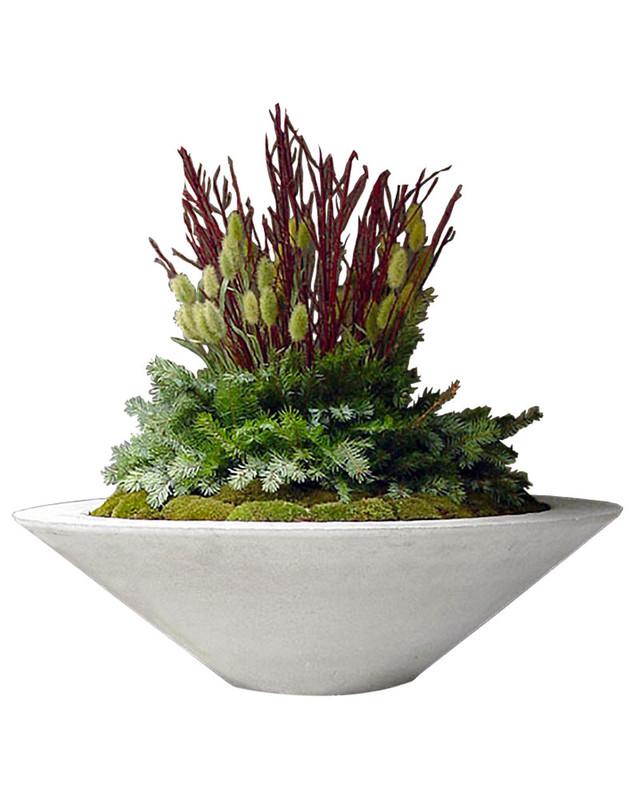 Essex Bowl Large Planter Vase