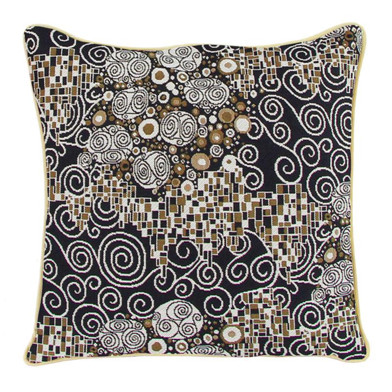 Gustav Klimt The Kiss Tapestry Pillow