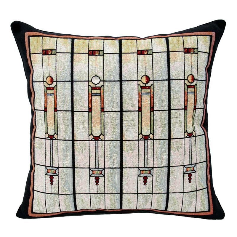 Louis Sullivan F&M Union Bank Window Tapestry Pillow