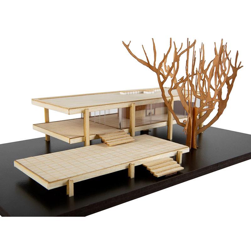 Farnsworth House Scale Replica Kit by Model Landmarks
