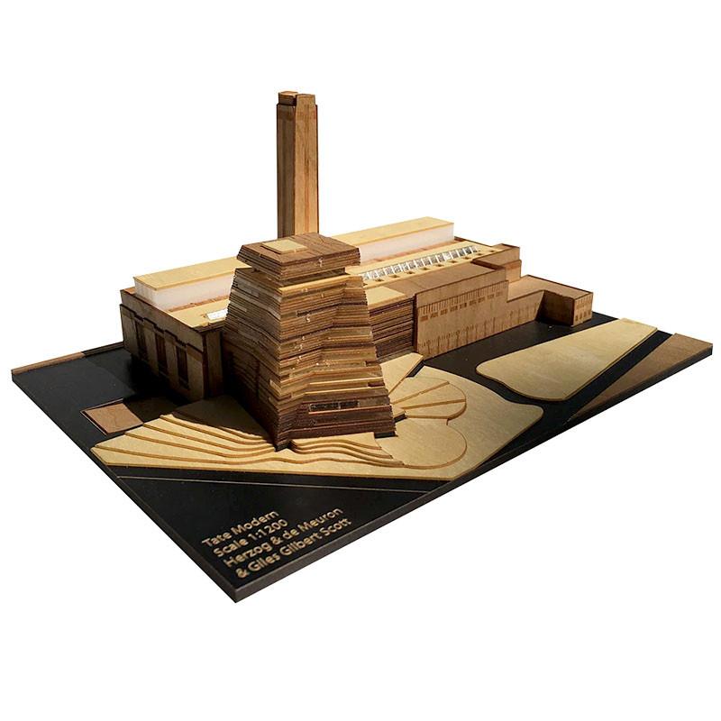 Tate Modern Museum Scale Replica Kit by Model Landmarks