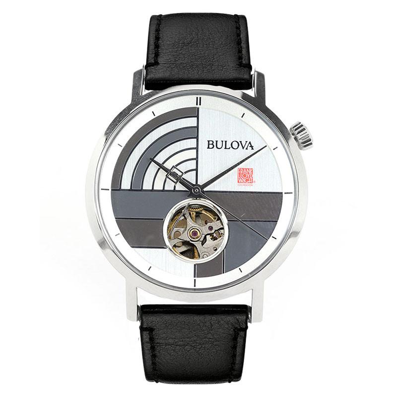 Frank Lloyd Wright Oculus Automatic Watch, Front