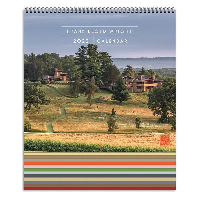 Frank Lloyd Wright 2022 Wall Calendar