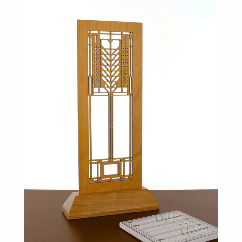 Frank Lloyd Wright Tree of Life Laser-Cut Wood Mini Screen