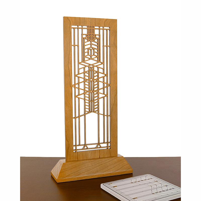 Frank Lloyd Wright Robie House Laser-Cut Wood Mini Screen