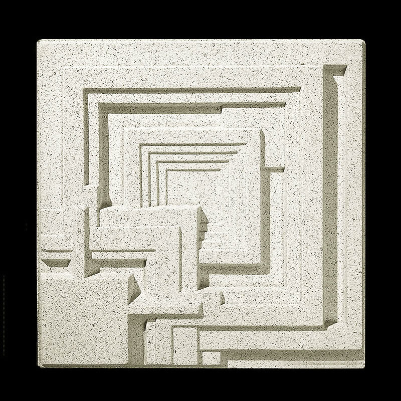 Frank Lloyd Wright Ennis House Cast Stone Wall Panel