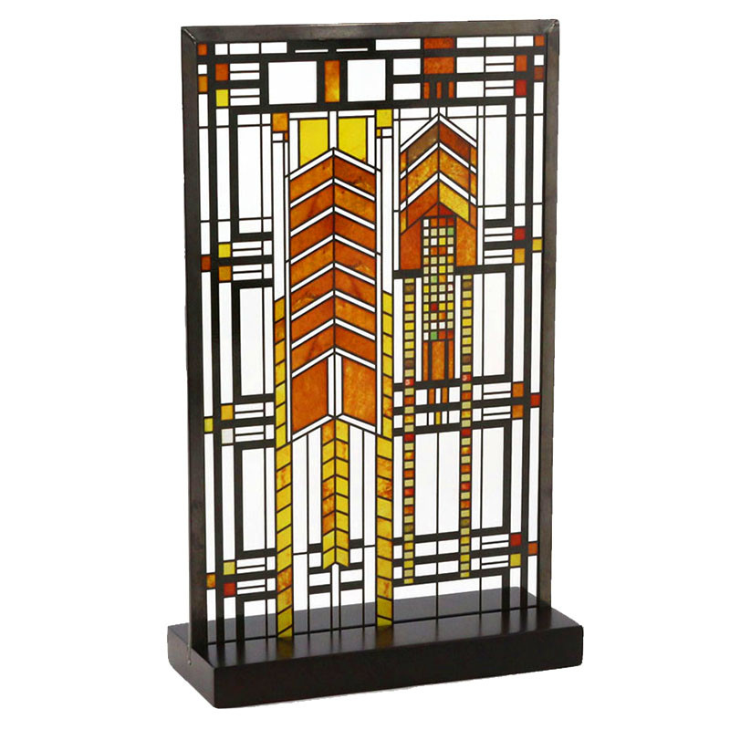 Frank Lloyd Wright Autumn Sumac Stained Glass