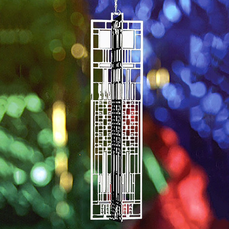Frank Lloyd Wright Dana Art Glass WrightSicle Gift