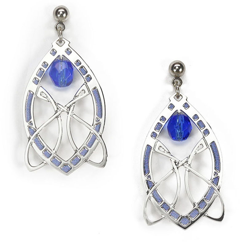 Sullivan Stock Exchange Earrings - Blue