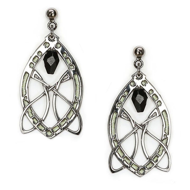 Sullivan Stock Exchange Earrings - Black