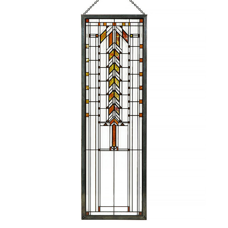 Frank Lloyd Wright Barton House Buffet Door Window Stained Glass
