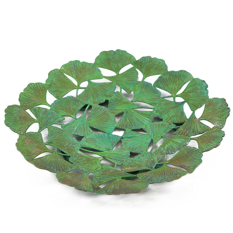 Arts & Crafts Ginkgo Leaf Plate