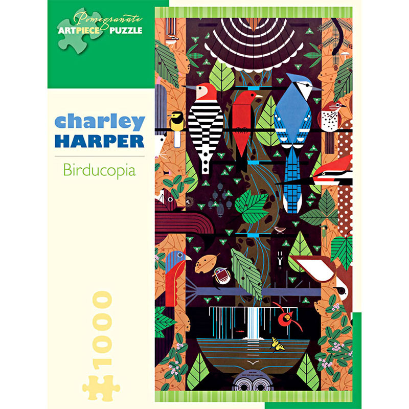 Charley Harper Birducopia 1000 Piece Jigsaw Puzzle