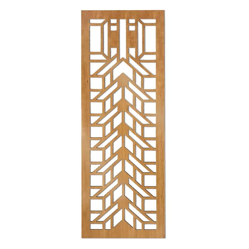Frank Lloyd Wright Martin House Wood Art Screen Wall Panel Cherry