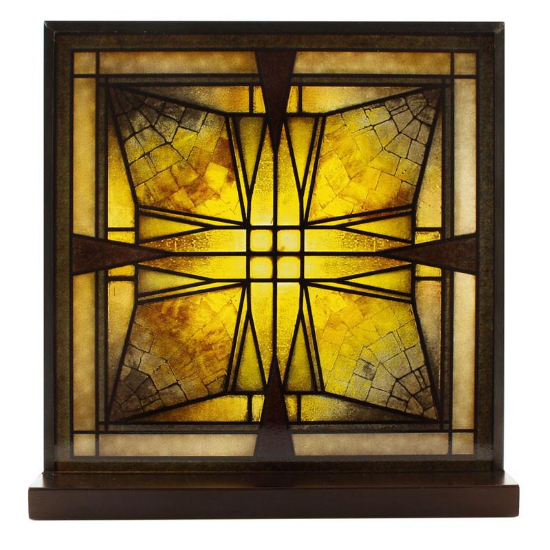 Frank Lloyd Wright Stained Glass Patterns.Frank Lloyd Wright Thomas House Vestibule Ceiling Light Glass