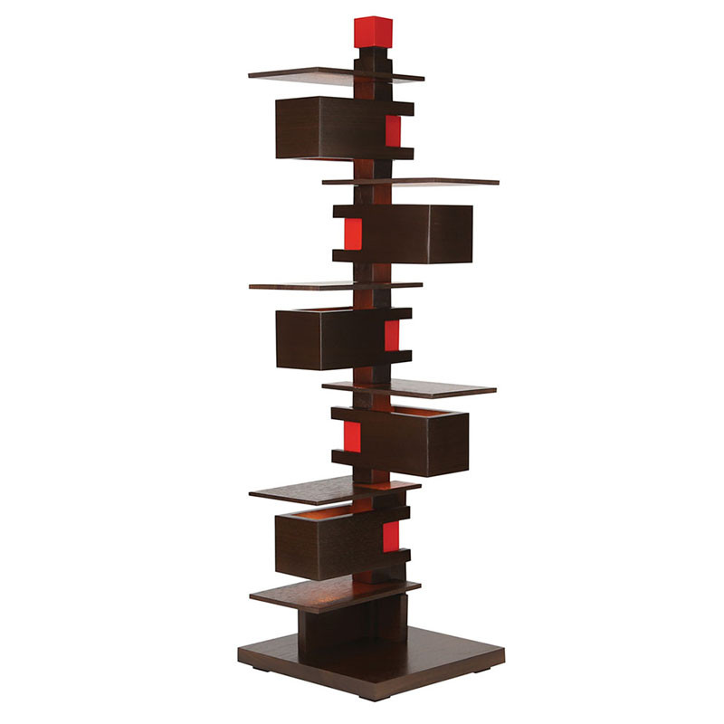 Frank Lloyd Wright Taliesin 3 Table Lamp - Walnut