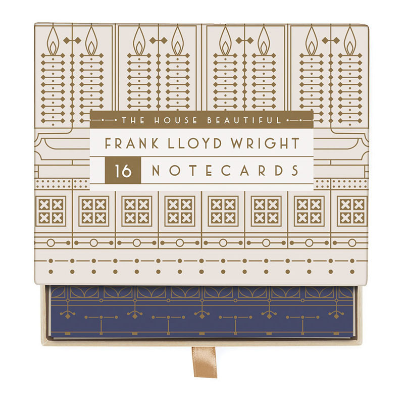 Frank Lloyd Wright House Beautiful Greeting Notecards Assortment Box