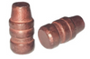 38/357 and 9 MM 158 Grain Semi Wad Cutter Coated Bullet