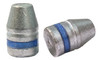 38/357 and 9 MM 125 Grain Truncated Cone Flat Point - Beveled Base Lubed Bullet