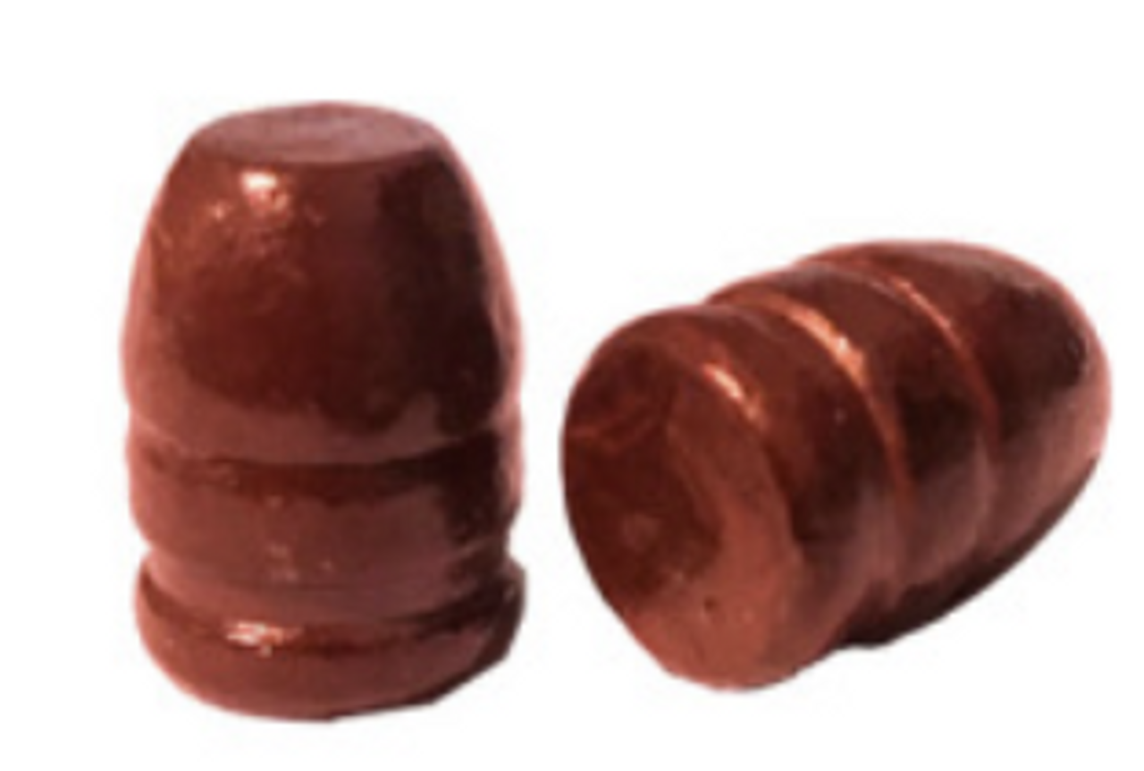 44 Caliber 200 Grain Round Nose Flat Point Coated Bullet