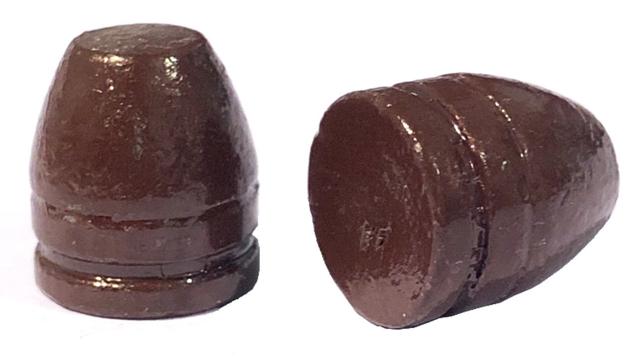 45 ACP 180 Grain Round Nose Flat Point Coated Bullet
