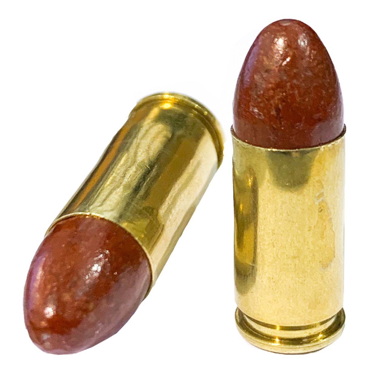 9MM 115g RN No Lube Groove Coated Bullets
