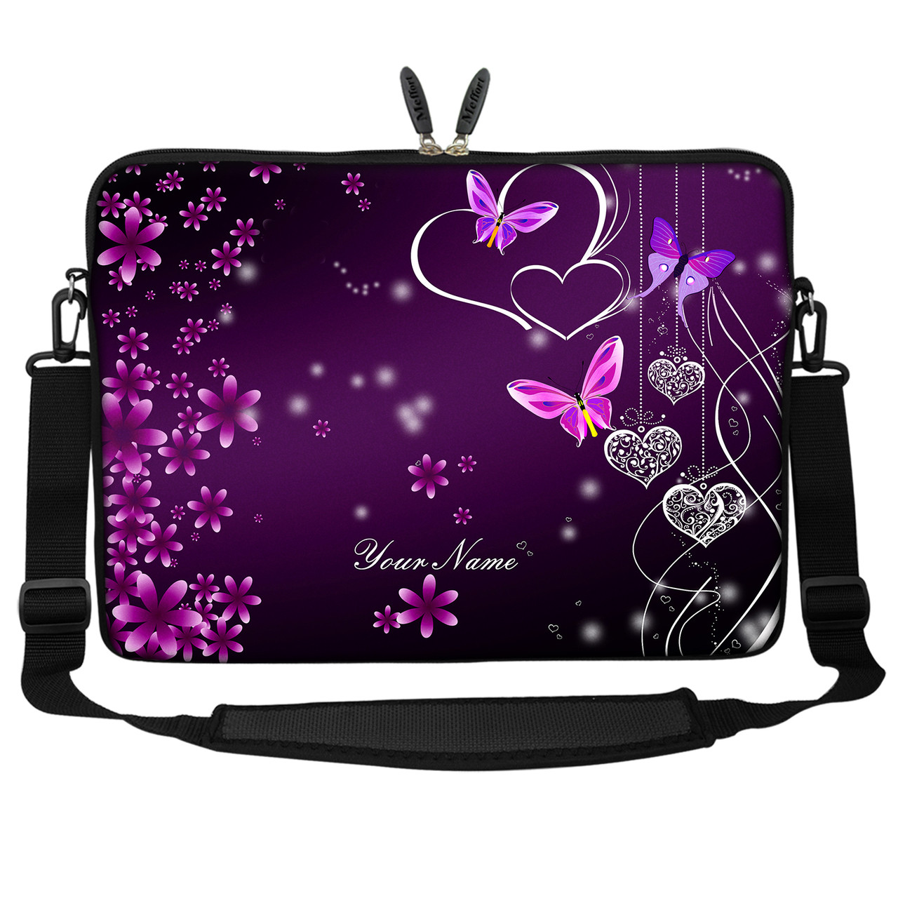 "13 13.3/"" Laptop Sleeve Bag with Hidden Handle Shoulder Strap 2252"