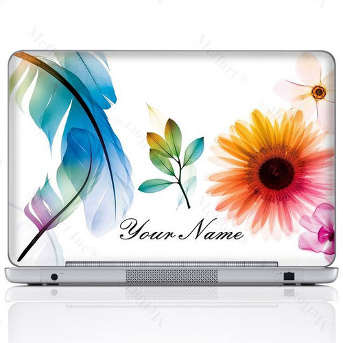 Customized Name Laptop Skin Sticker  311