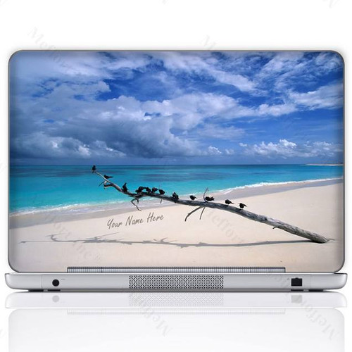 Customized Name Laptop Skin Sticker  408