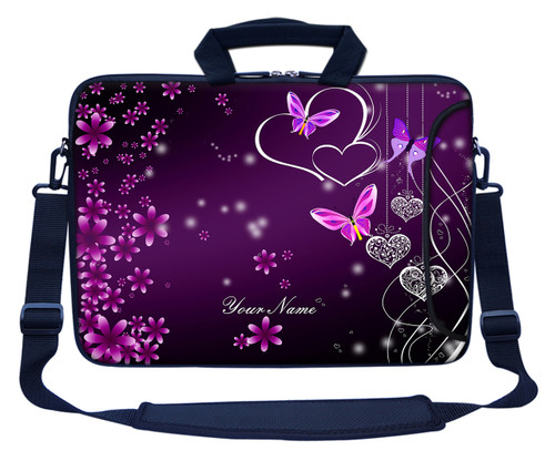 Customized Name Laptop Bag (Side Pocket) 2503