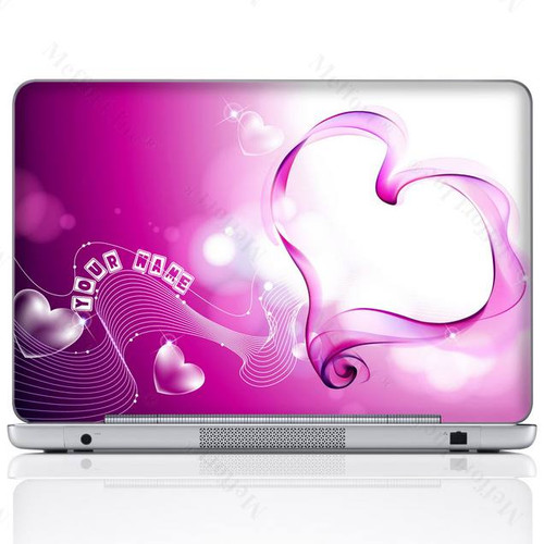Customized Name Laptop Skin Sticker  832