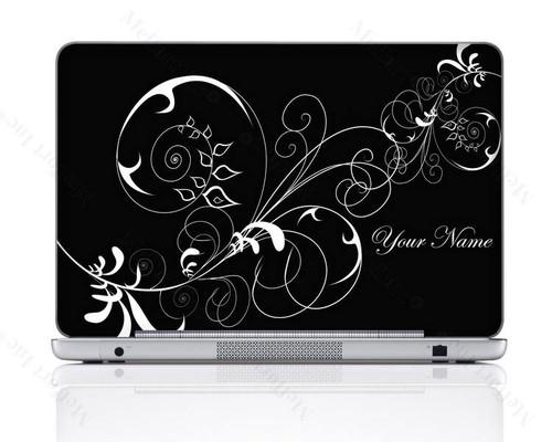 Customized Name Laptop Skin Sticker 1402