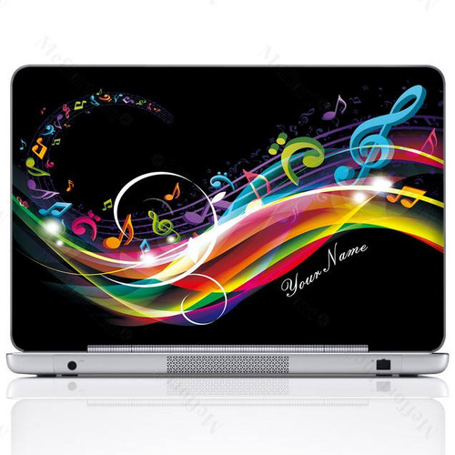 Customized Name Laptop Skin Sticker 2704