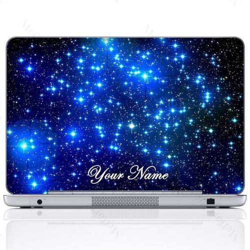 Customized Name Laptop Skin Sticker 3015