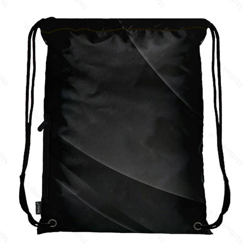 Drawstring Bag with Side Pocket 1602