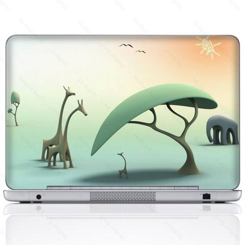 Laptop Skin Sticker  601