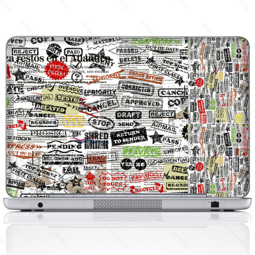 Laptop Skin Sticker 2815