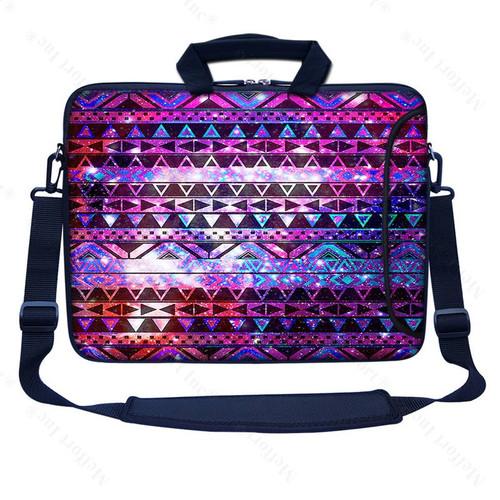 """17.3/"""" 17/"""" Neoprene Laptop Bag Sleeve with Pocket Shoulder Strap Handle 2252"""