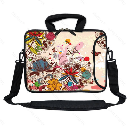 "12"" Laptop Bag with Side Pocket 3010"