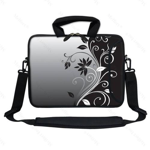 """17.3/"""" Laptop Computer Sleeve Case Bag w Hidden Handle /& Shoulder Strap 2252"""