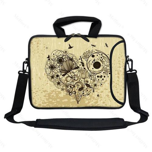 """13"""" Laptop Bag with Side Pocket 3012"""