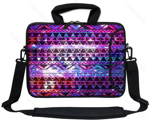 """17.3/"""" 17/"""" Neoprene Laptop Bag Sleeve with Pocket Shoulder Strap Handle 2702"""