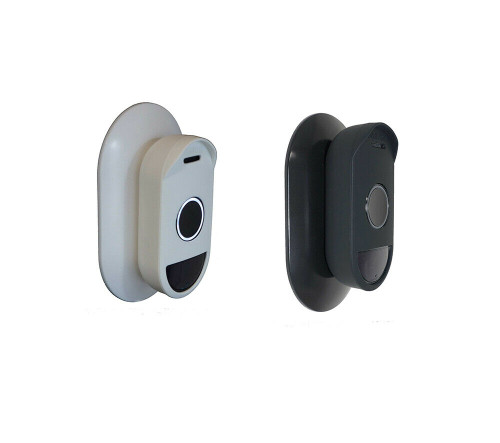 Silicone  Cover & Wall Mount Bracket Plate for Arlo Doorbell - Bundle