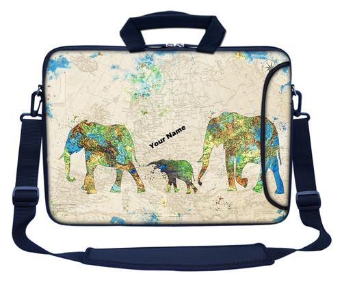 Customized Name Laptop Bag (Side Pocket) 3122