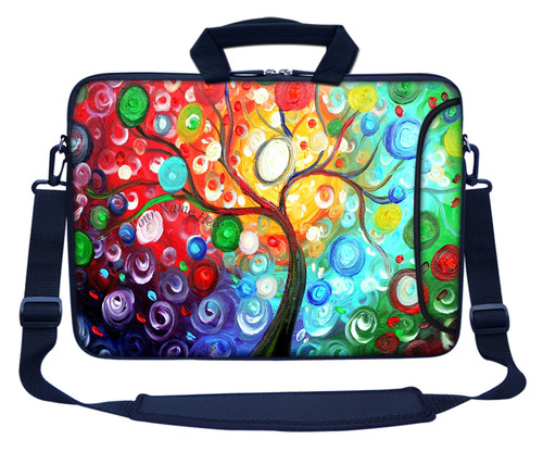 Customized Name Laptop Bag (Side Pocket) 3128