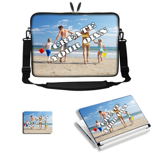 Customized Laptop Sleeve Combo