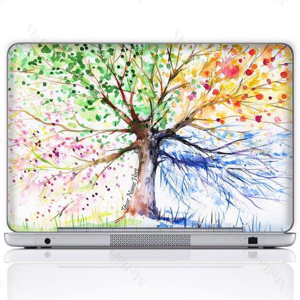 Customized Name Laptop Skin Sticker 3152