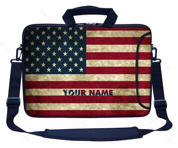 Customized Name Laptop Bag (Side Pocket) 3036