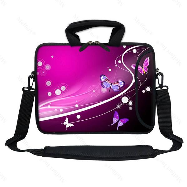 """13"""" Laptop Bag with Side Pocket 2502"""