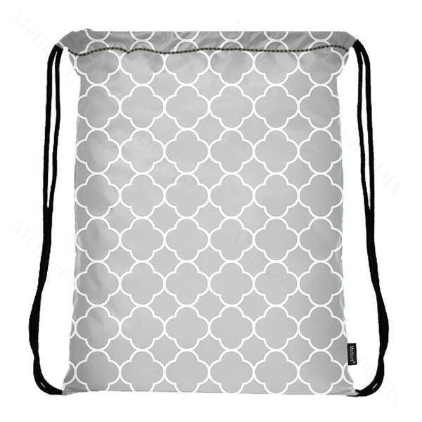 Drawstring Bag with Side Pocket 3178